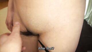 Бритье лобковых волос японских любителей без цензуры с субтитрами