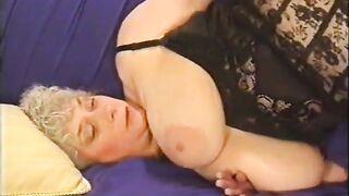 Ома Пауэр в развратном порно фильме